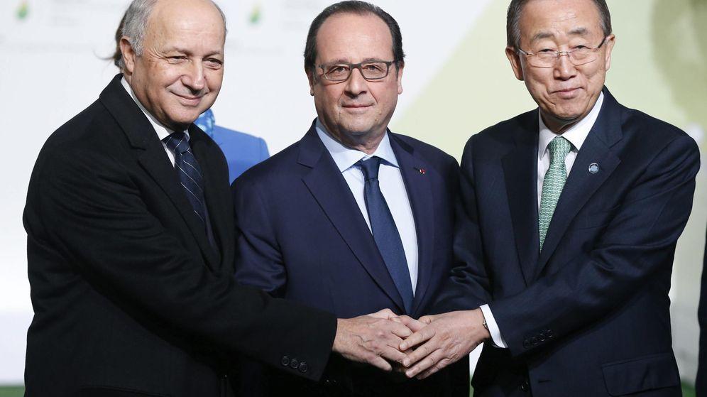 Foto: Cumbre sobre el cambio climático en París (EFE)