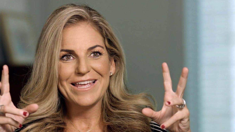 Arantxa Sánchez Vicario, en un documental para televisión. (EFE)
