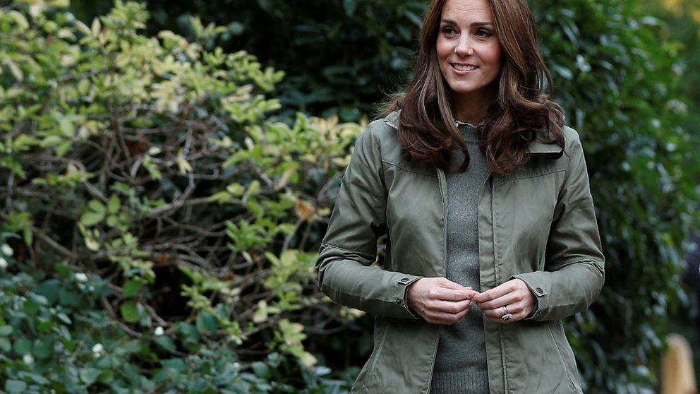 De sport y con zapato plano: así ha sido la vuelta al trabajo de Kate Middleton