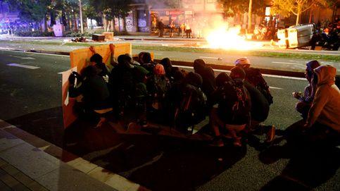 Disturbios y cargas en Barcelona en el tercer día de protestas por la sentencia