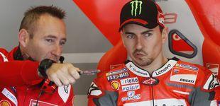 Post de El dilema de Lorenzo, querer competir con una moto que todavía no se le adapta