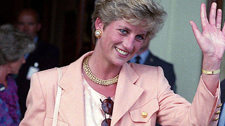 Diana de Gales a su llegada a Wimbledon en 1993. (Tom Wargacki/WireImage)