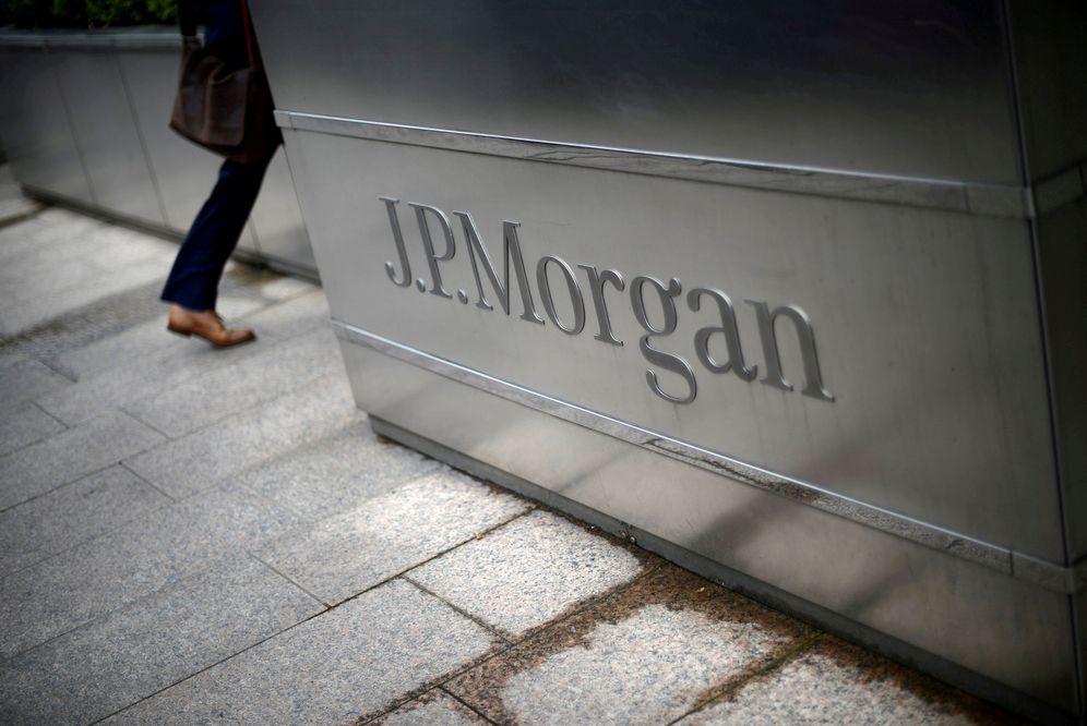 Foto: El edificio de JP Morgan en Canary Wharf en Londres. (Dylan Martinez/Reuters)