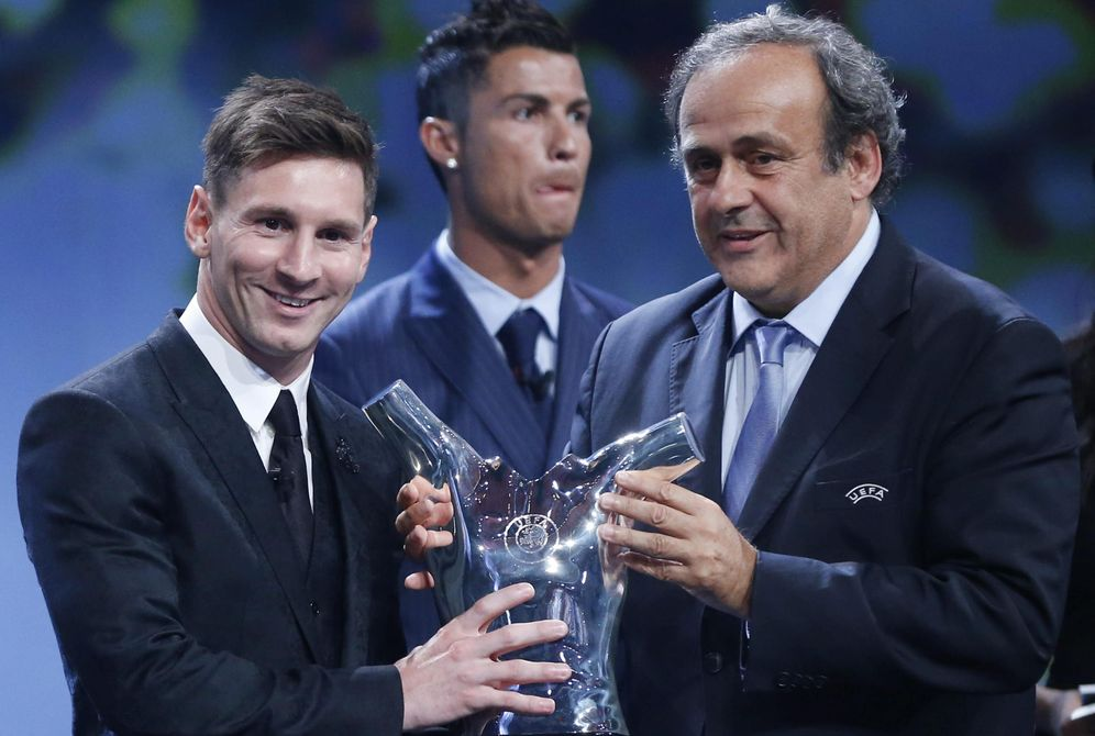 Resultado de imagen de messi premio uefa