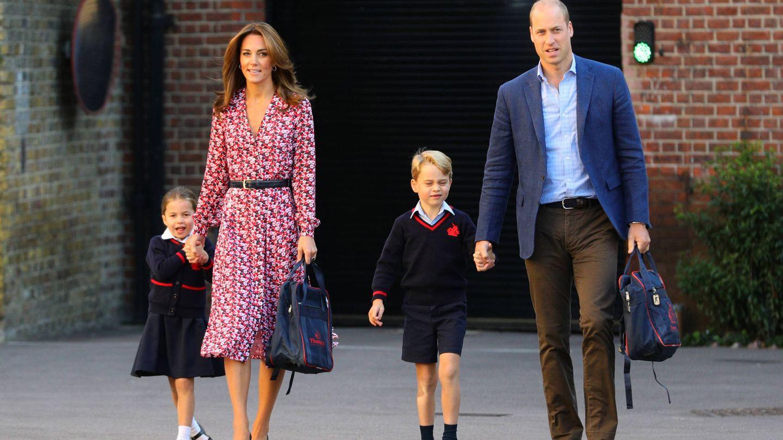 Kate Middleton, el primer día de cole de sus hijos. (Getty)