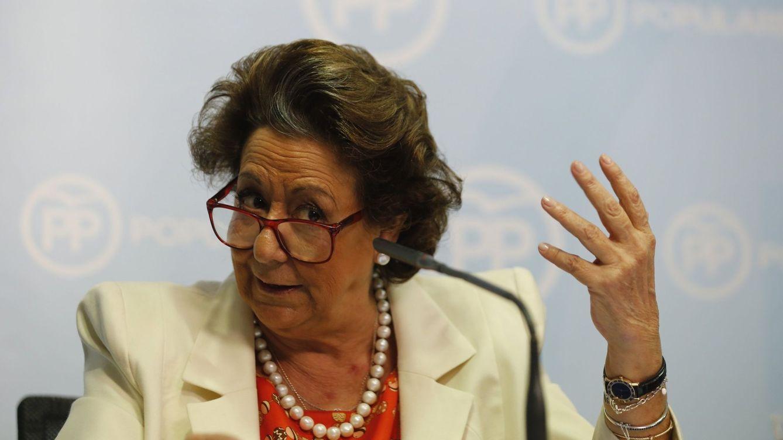 Los recados de Barberá al PP:  de las gracias a Rajoy y Catalá a olvidarse de Aguirre