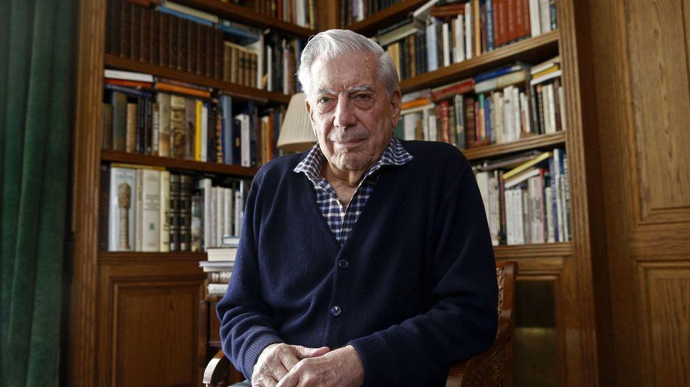 Foto: Mario Vargas Llosa.