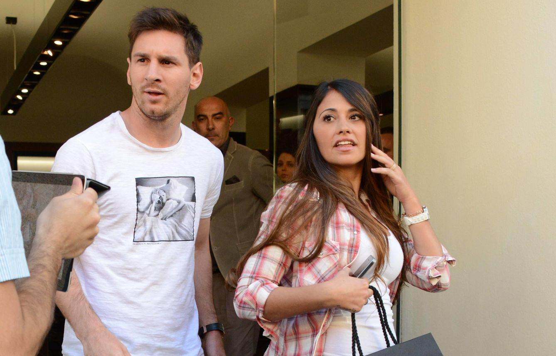 La mujer de Messi es ingresada en un hospital argentino por una infección urinaria