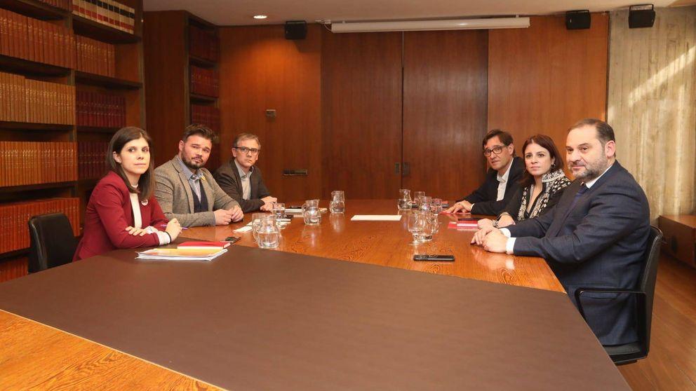 PSOE y ERC avanzan en la definición de la mesa de negociación del futuro de Cataluña