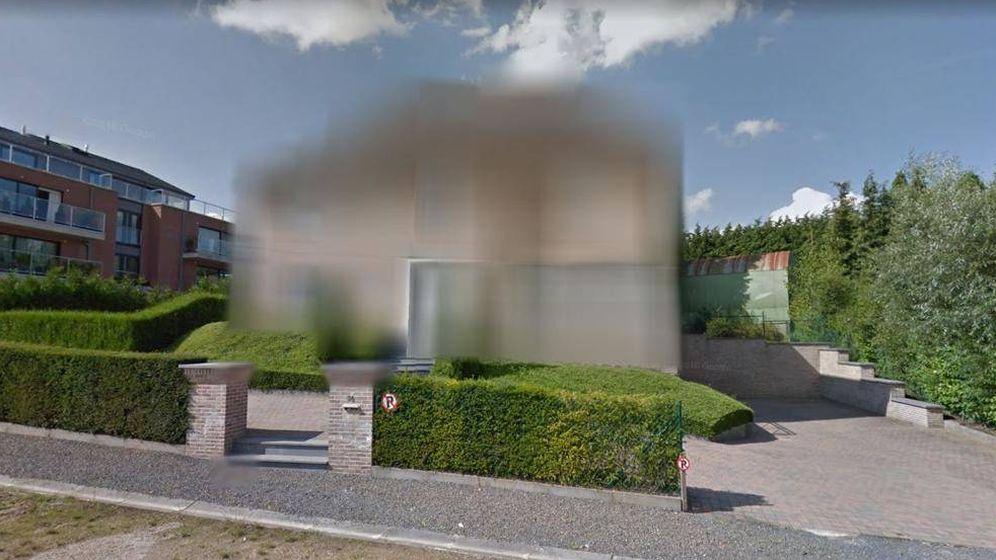 Foto: Mansión de Carles Puigdemont pixelada (Foto: Google)