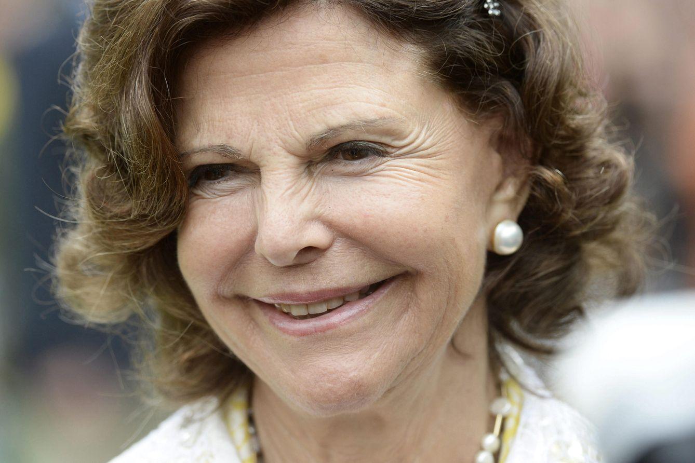Foto: Silvia de Suecia, en una imagen de archivo tomada en julio de 2014 (Gtres)