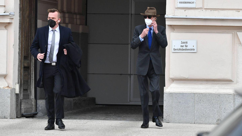 Ernesto de Hannover, tras salir del juzgado. (Getty)
