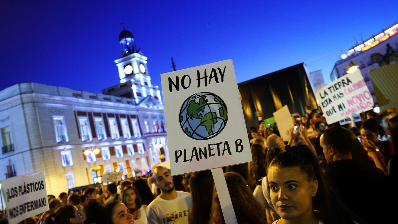 Las nuevas generaciones reclaman su derecho a un medio ambiente sano y un clima seguro (EFE)