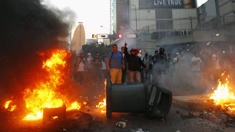 Protestas en Caracas (Reuters)