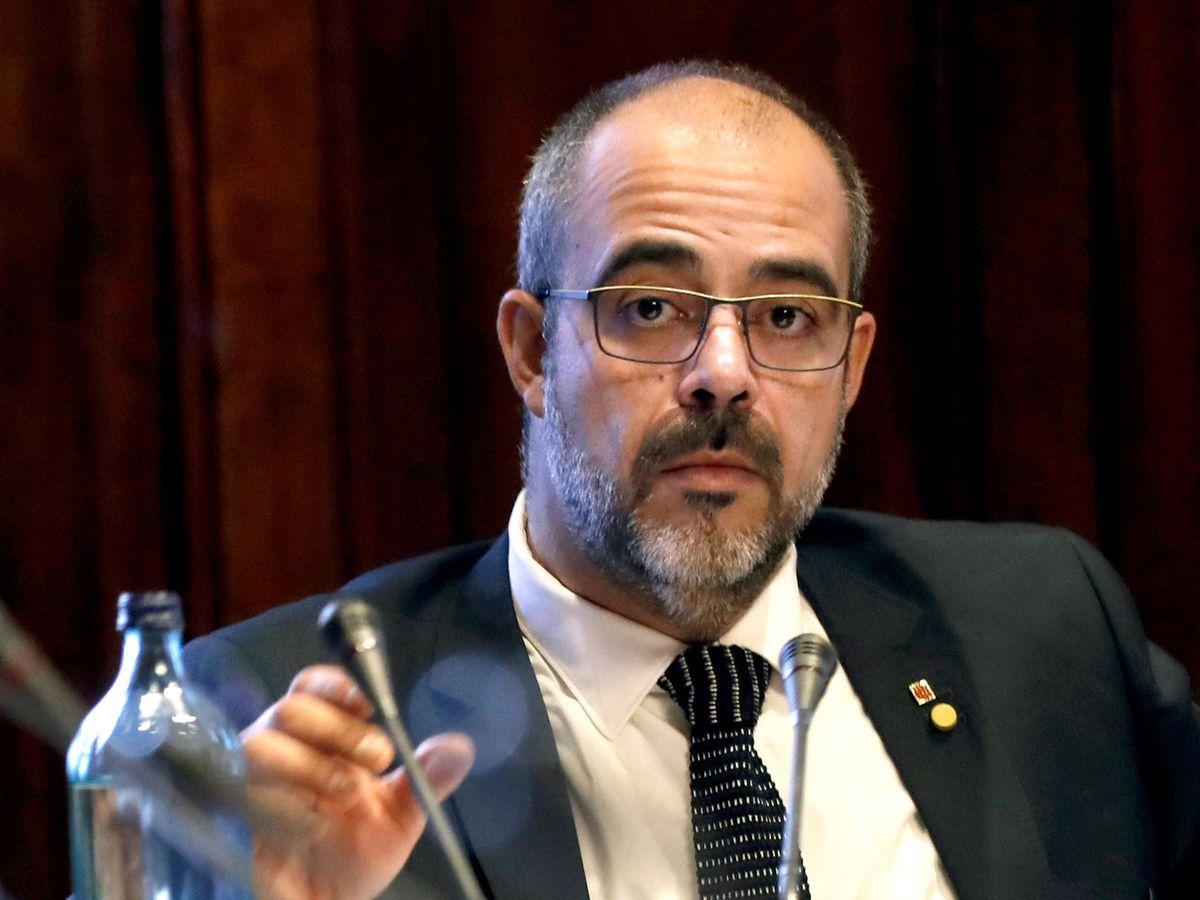 Foto: El conseller de Interior, Miquel Buch. (EFE)