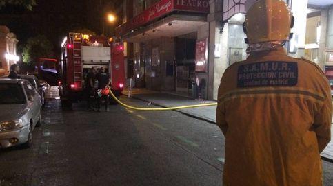 Los bomberos sofocan un incendio en el Círculo de Bellas Artes de Madrid