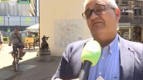 Un ciclista atropella a un alcalde belga mientras está dando una entrevista