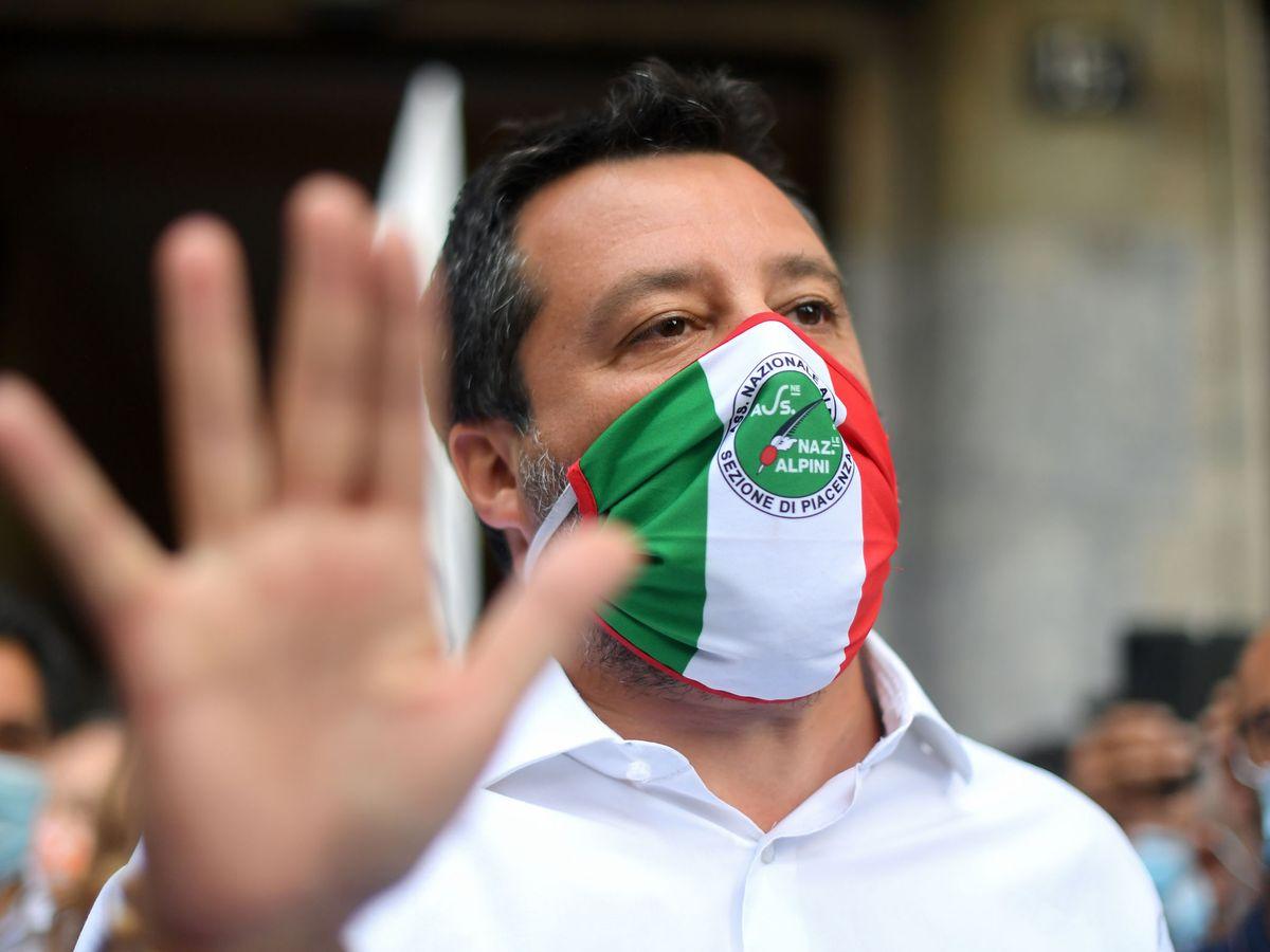 Foto: Matteo Salvini, líder de la Lega. (Reuters)