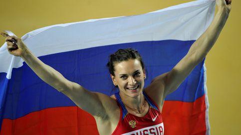Ruth Beitia, una inspiración para que Yelena Isinbayeva vuelva a las pistas