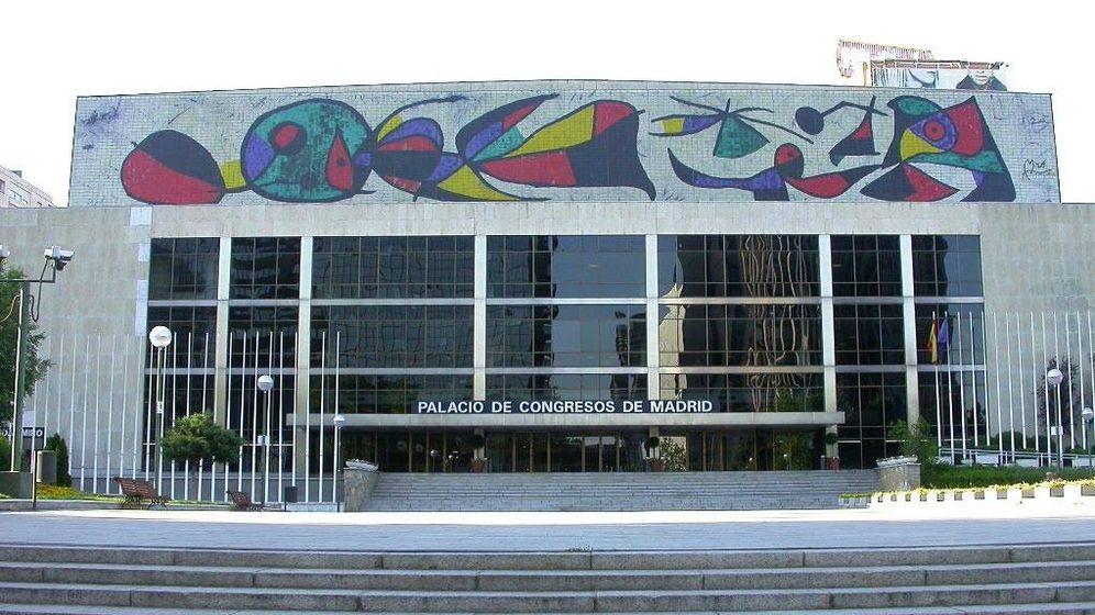 Foto: Fachada principal del Palacio de Congresos.