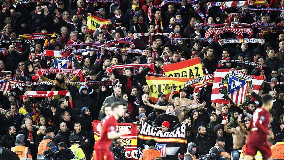 Foto: Partido entre el Liverpool y el Atlético de Madrid. (EFE)