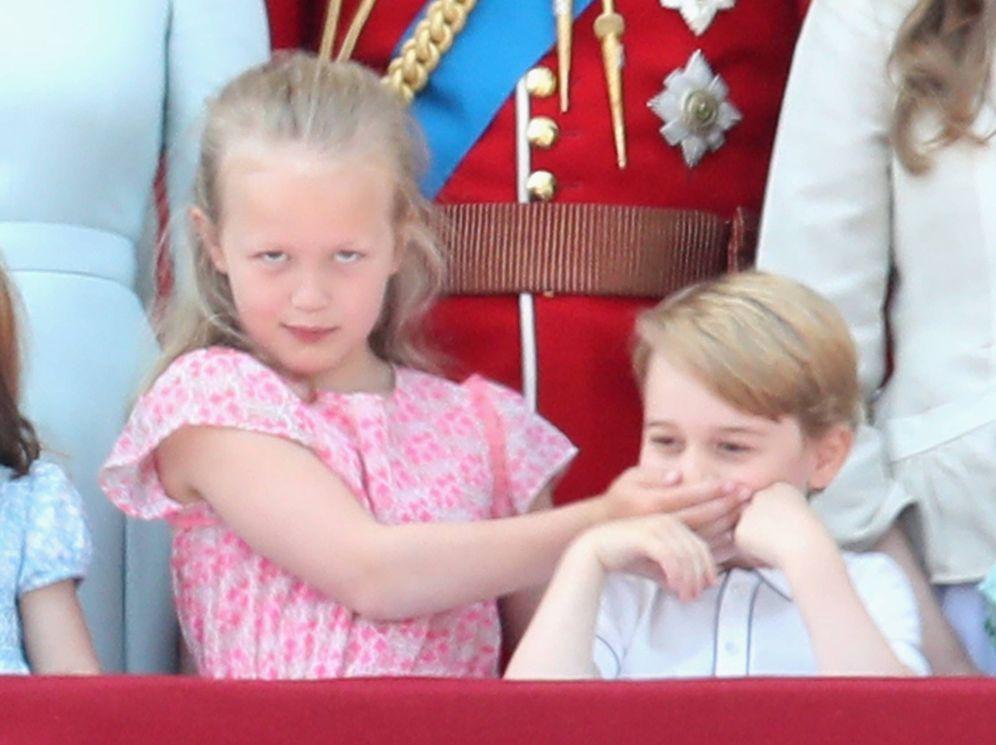 Foto: Charlotte y George, en una foto de Getty.