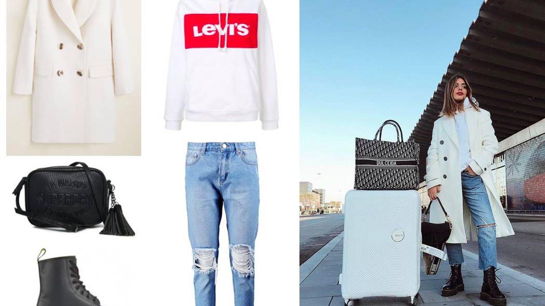 Dejando a un lado los carísimos accesorios de Dulceida, puedes copiar su look con nuestro shopping. (Instagram)