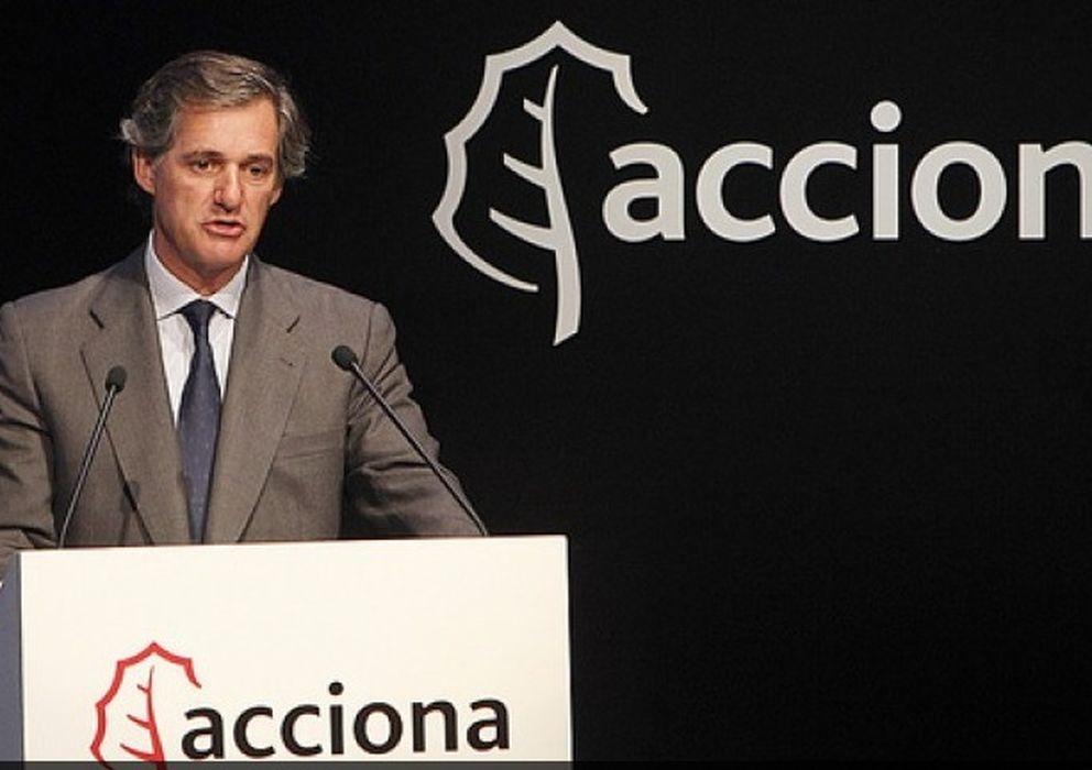 Foto: José Manuel Entrecanales, presidente de Acciona, en una fotografía de archivo (Efe)
