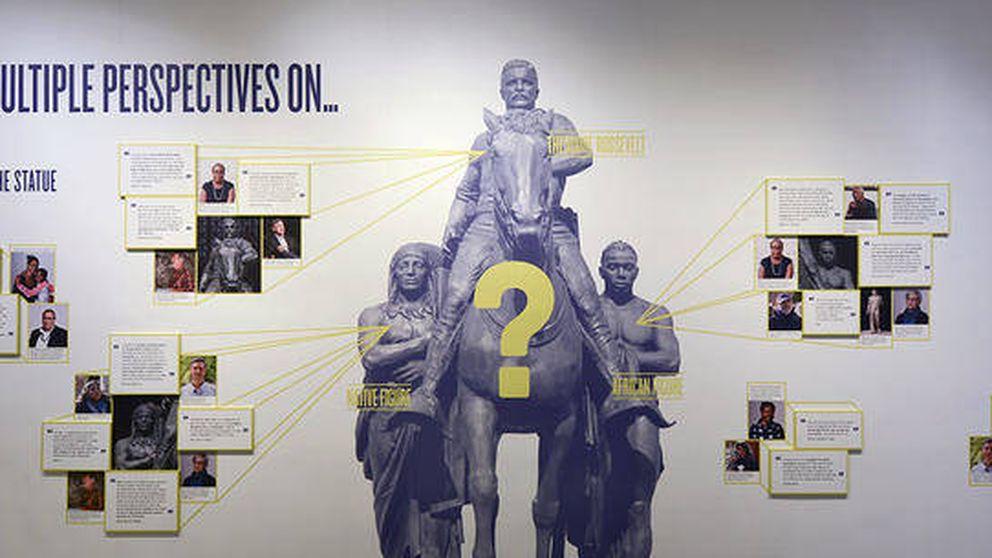 El Museo de Historia Natural de NY retirará una estatua del presidente Roosevelt