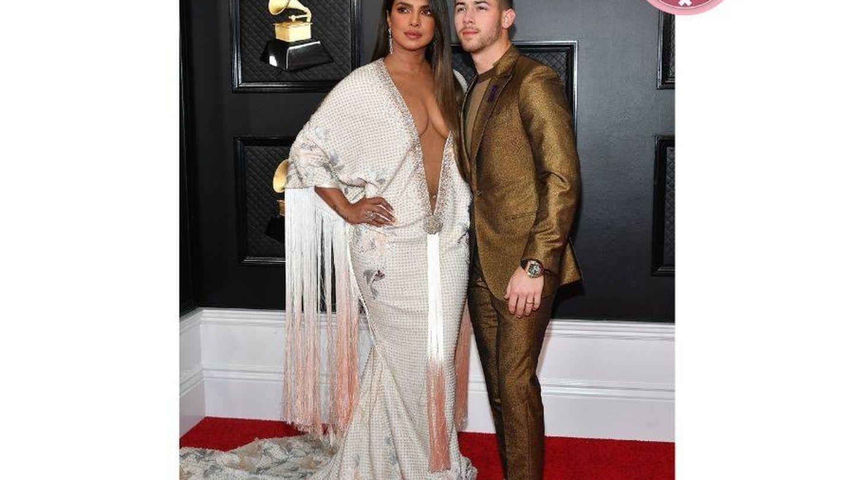 Priyanka y Nick. (Getty)