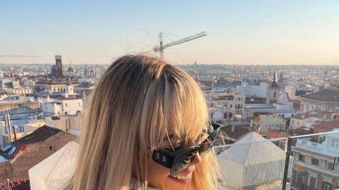 Danna Paola estrena cambio de look en su regreso a Madrid y sigue los pasos de Aitana
