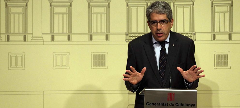 Foto: El conseller de Presidencia y portavoz del Govern, Francesc Homs (Efe)