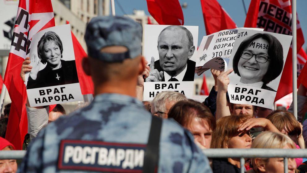 El caduco sistema ruso: No hay suficiente población para sostener a los jubilados