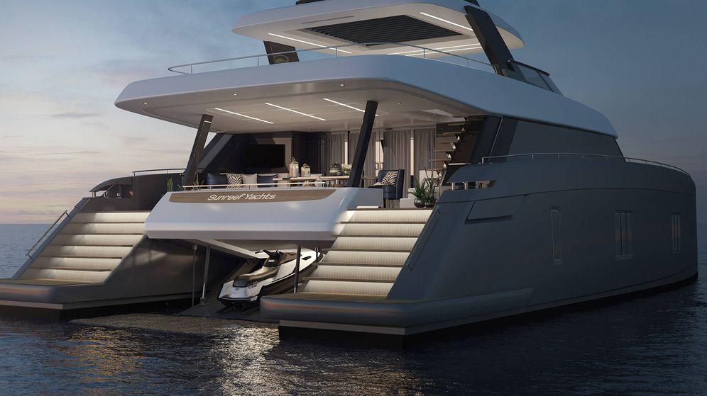 Foto:  El catamarán de lujo de Rafa Nadal. (Sunreef Yachts)