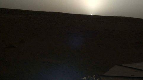 Así es la primera salida y puesta de sol en Marte captada por la misión InSight