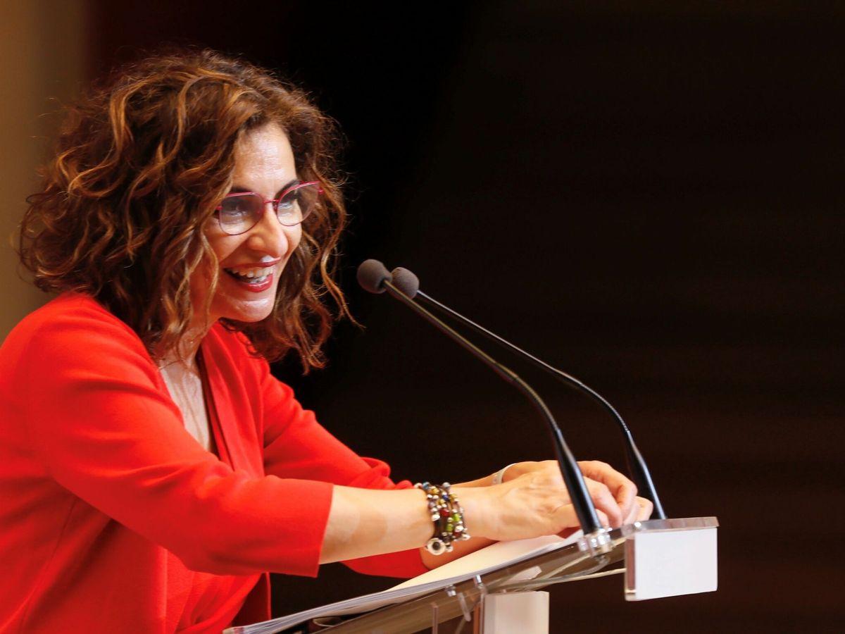 Foto: María Jesús Montero, ministra de Hacienda y portavoz del Gobierno. (EFE)