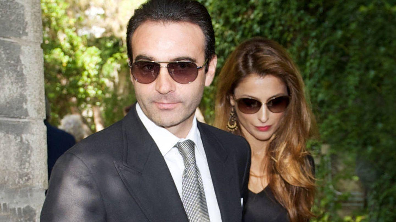 Paloma Cuevas y Enrique Ponce, en una imagen de archivo. (Getty)