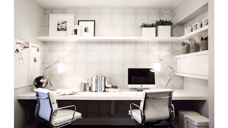 Dise o c mo decorar su oficina en casa for Casa moderna oficina