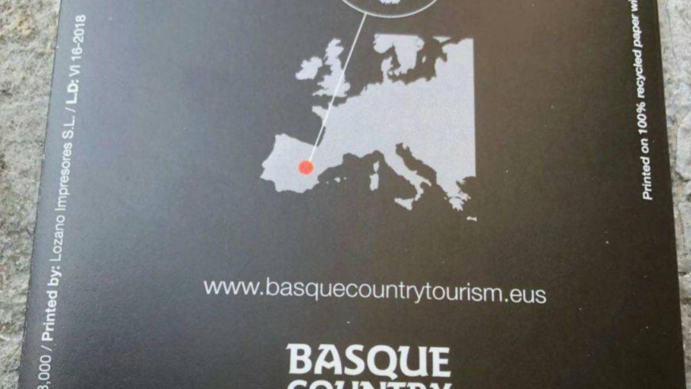 Un folleto turístico del Gobierno vasco sitúa la comunidad en... Cuenca