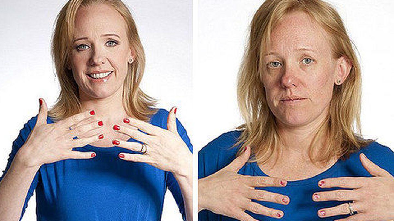 Anna Pursglove, antes y después de su mes de abstemia desmaquillante