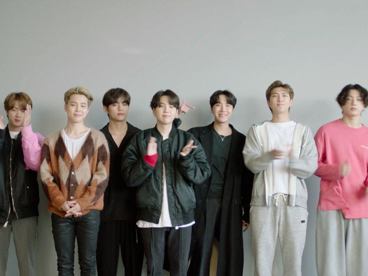Foto: BTS, ganadores de los MTV EMA 2020. (MTV)