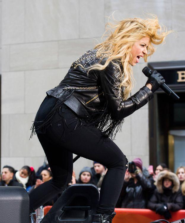 Foto: Shakira, actuando en Nueva York. (Gtres)