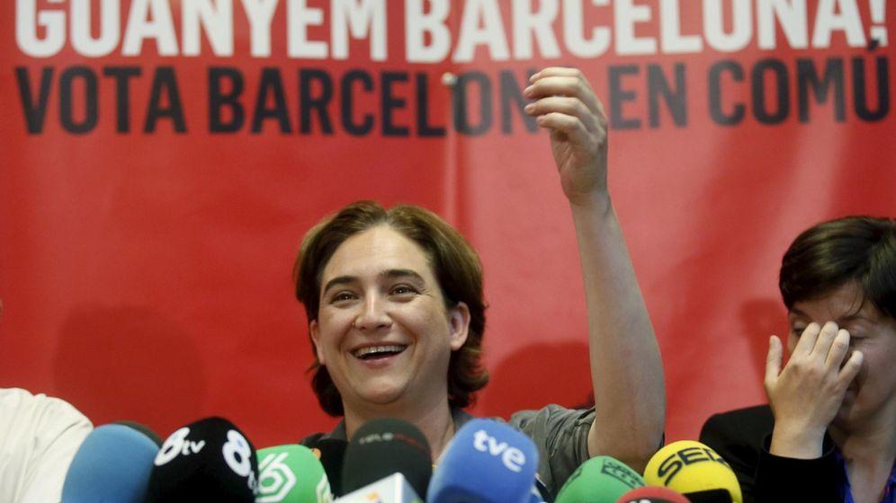 Foto: La candidata a la Alcaldía de Barcelona, Ada Colau. (Efe)