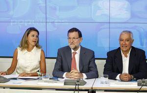 Rajoy frena las expectativas de cambio en la dirección del PP