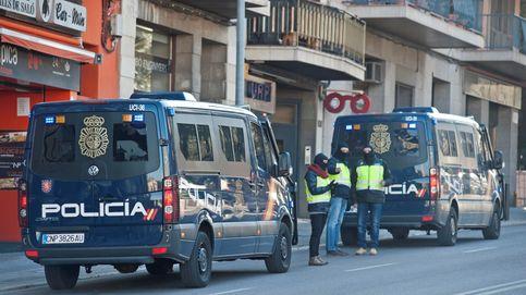Cuatro policías locales de Figueres, arrollados por joven ebrio y sin carné