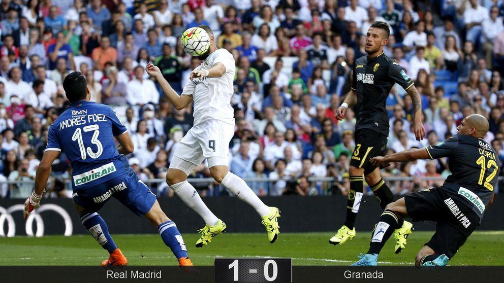 Cristiano no marca, Keylor se luce y el Bernabéu pita el juego de su equipo