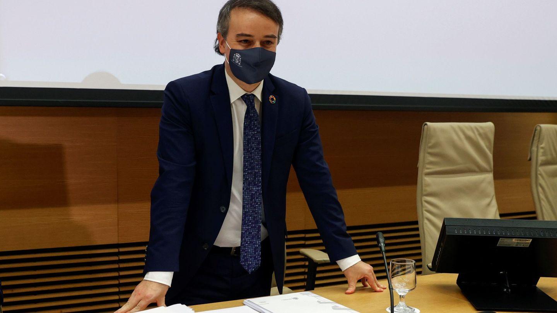 Iván Redondo, en una comparecencia reciente en el Congreso. (EFE)