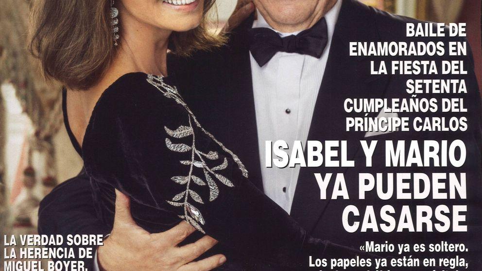 Isabel Preysler y Mario Vargas Llosa ya se pueden casar (él ya está soltero)