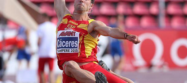 Foto: Eusebuio Cáceres es la gran esperanza de España (federación española de atletismo).