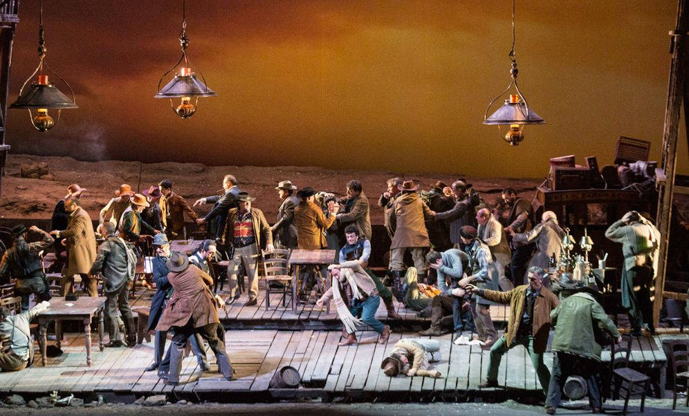 Foto: 'La fanciulla del West' por primera vez en las temporadas de ABAO Bilbao Opera.